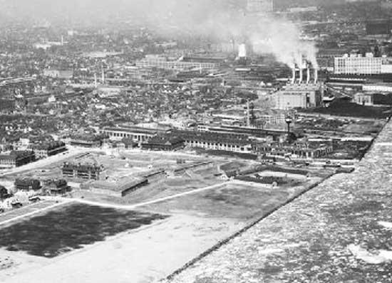 Aerial - Fort Wayne