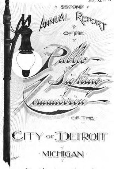 Department of Public Lighting 1897