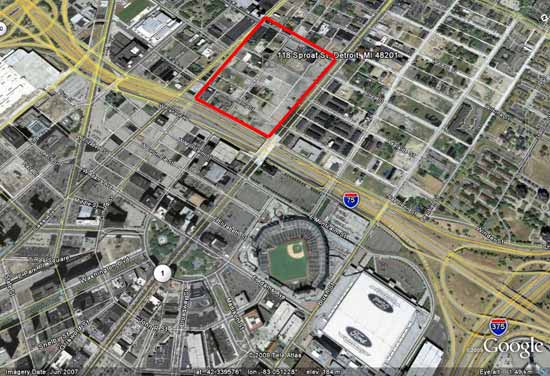 Possible Red Wings Arena