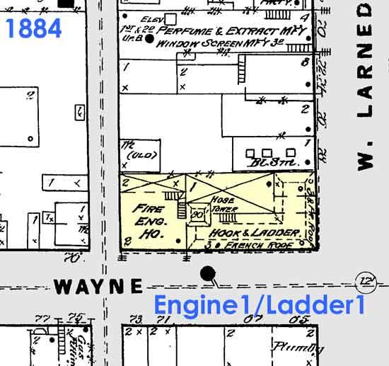 DFD Engine 1/Ladder 1 1884
