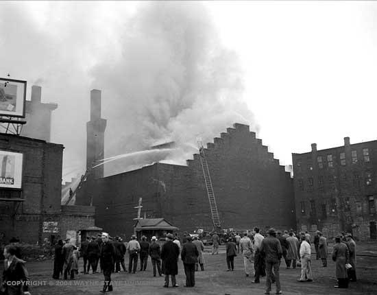 Detroit Armory Fire