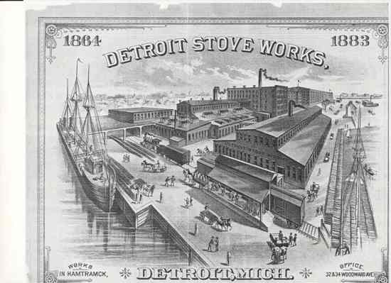 1883 Detroit Stove Works