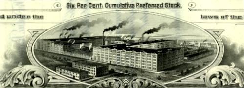 Peninsular Stove Stock Certificate, 1900