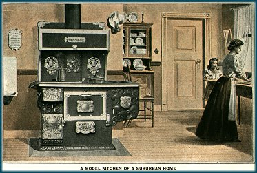 A Peninsular Stove Co. range of the 1890s
