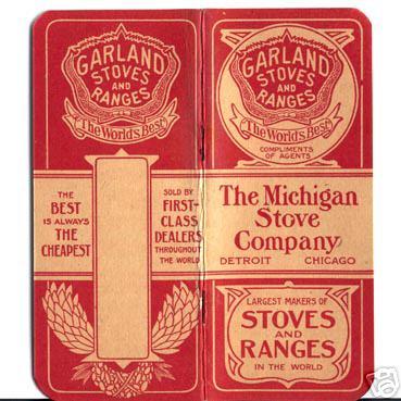 Michigan Stove Co. catalogue
