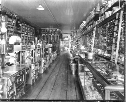 Milton, N. dakota Hardware Store, LoC