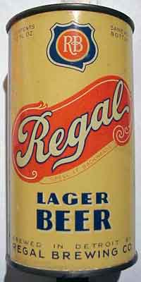Regal beer can