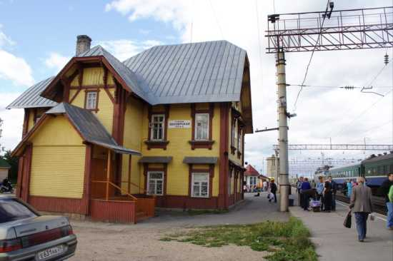 Obozerskaya Railroad Station - 2007