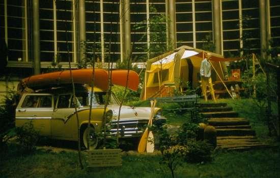 Display inside the Ford Rotunda