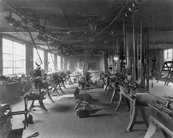 Kessler Motor Co plant interior