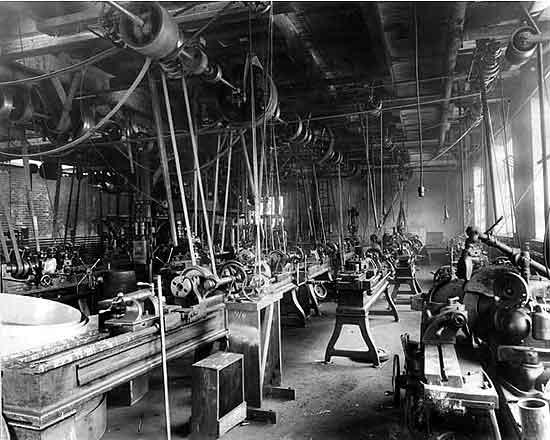 Kessler Motor Co plant interior 2