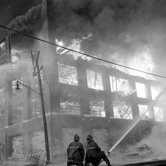 LeBaron-Detroit/Briggs fire 1963