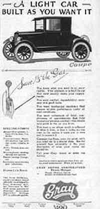 Gray 1923 ad