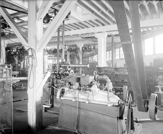 Scripps-Booth factory interior