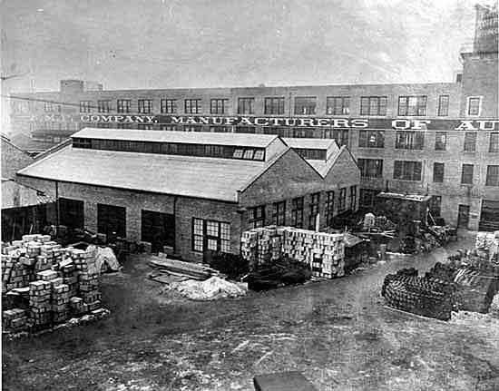 EMF plant courtyard