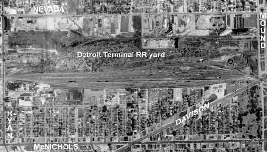 Detroit Terminal RR yard