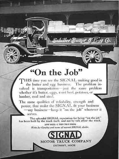 Signal Truck ad