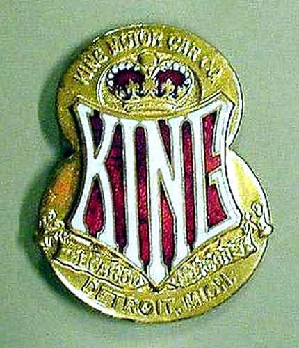 King radiator badge