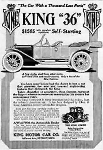 1912 King ad