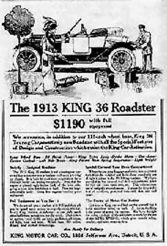 1913 King ad