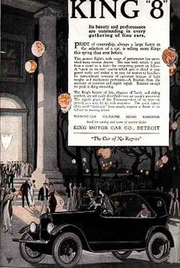1918 King ad