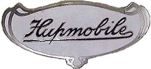 Hupmobile radiator badge