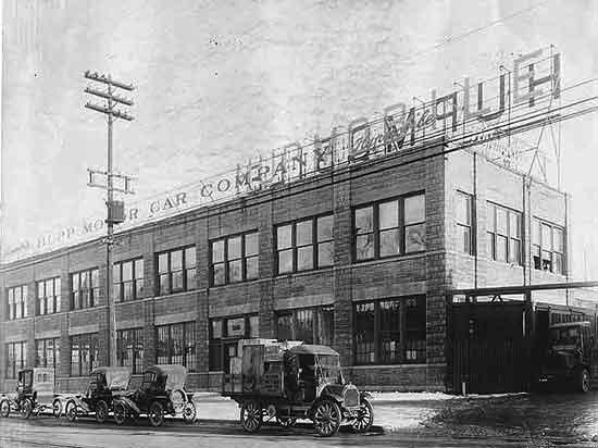 Hupmobile Jefferson factory 1