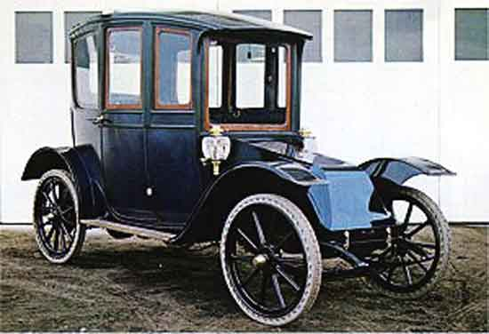 1911 Hupp-Yeats electric car