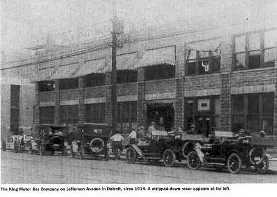 King Factory, Jefferson Ave, 1914