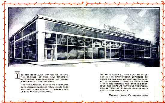 Crosstown Corp 1920