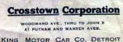 Crosstown Corp 1920 back c/u
