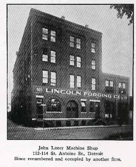 Lauer Machine Shop/Charles King