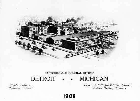 Cadillac factories 1908-2