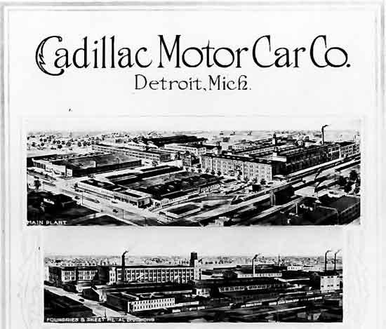 Cadillac factories 1