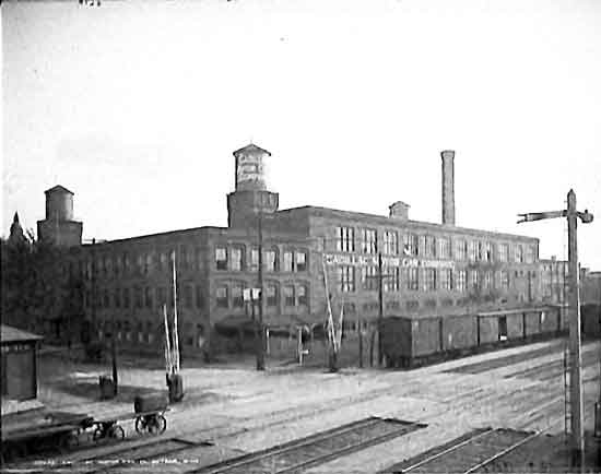 Early Cadillac Factory