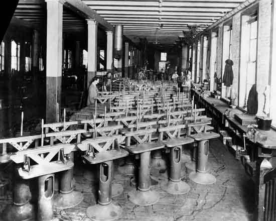 Cadillac factory Leland era