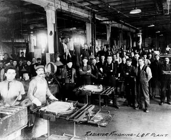 Cadillac factory Leland era Radiator