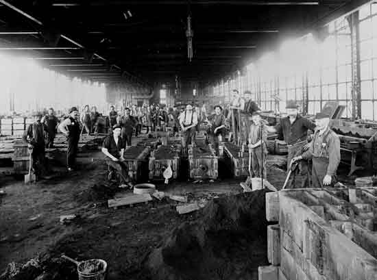Cadillac factory Leland era Foundry