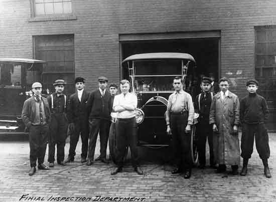 Cadillac factory Leland era Final inspection dept