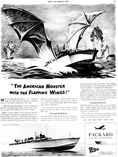 Packard PT Boat  Ad