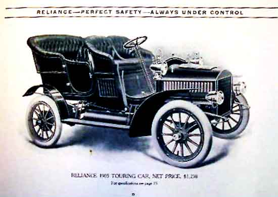 1905 Reliance