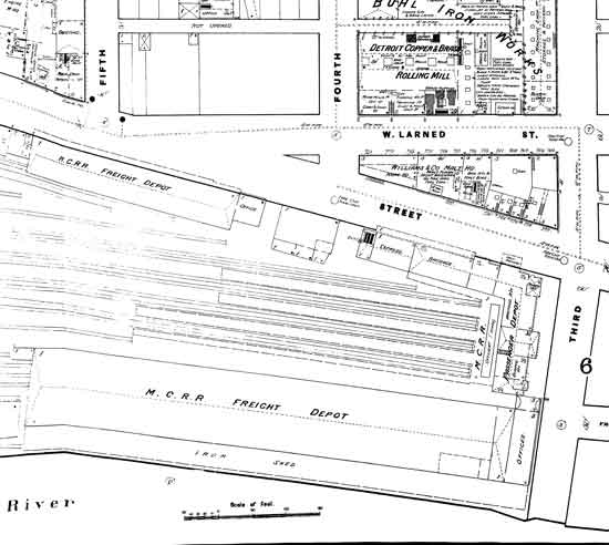 Michigan Central Depot 1884