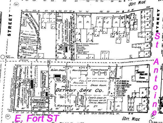 Detroit Safe Co, East Fort St