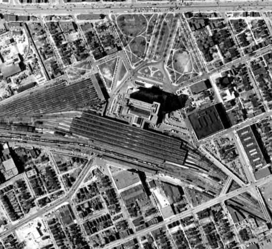 Michigan Central Depot 1949
