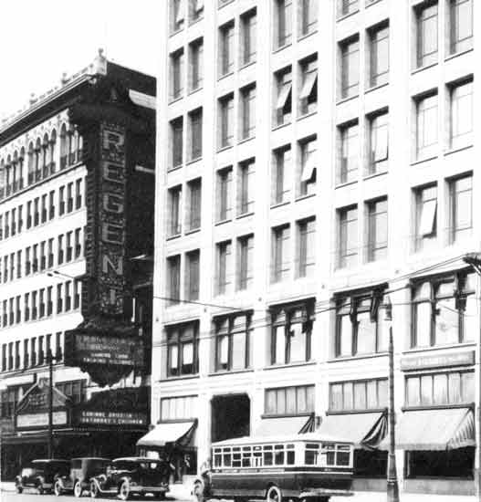 Another view of the Regent Theatre on Woodward Ave @ Grand Blvd