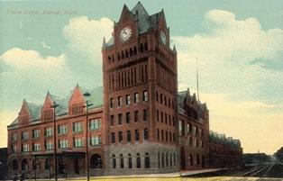 Union Depot Detroit Michigan