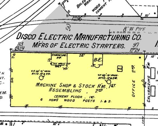 Disco Electric Starter Co