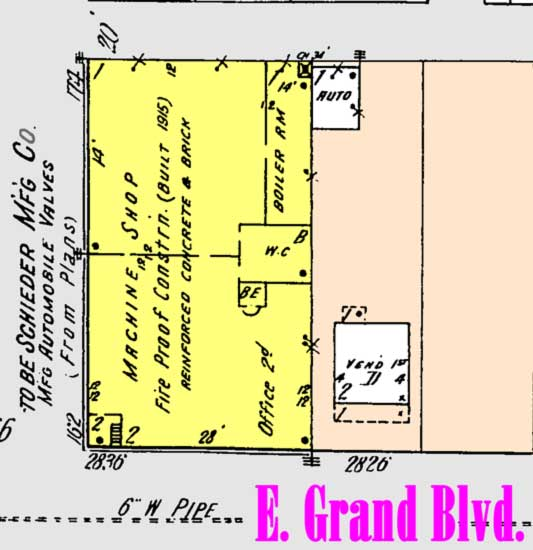 Schlieder Mfg map
