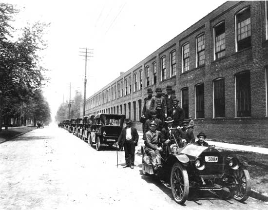 Hudson factory 1910