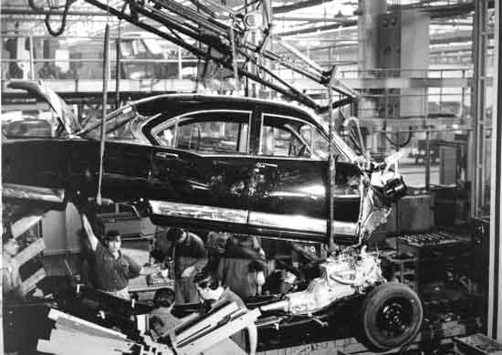 Hudson assembly line